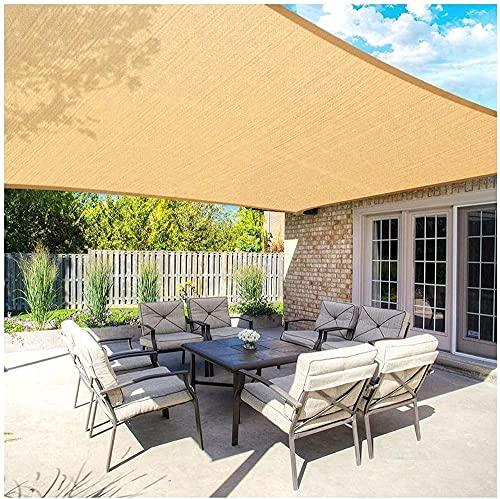 Vela De Sombra RectáNgulo De Dosel De Protector Solar Anti-UV Transpirable para Gazebo Patio Garden Outdoor Invernadero Flowers Piscina Piscina-5 * 6m (16 '* 20')