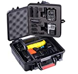 Smatree SmaCase GA500 Floaty/Water-Resist Hard Case Compatible for GoPro Hero 8,7,6,5,4,3 Plus, 3, 2, 1,GoPro Hero (2018),DJI Osmo Action (Camera and Accessories Not Included)