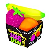Schylling Nee Doh Groovy Fruit - Novelty Toy (GFND)