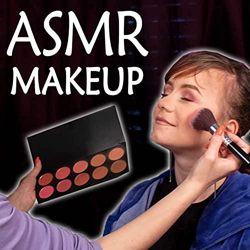 ASMR She Does Her Makeup, Pt. 11