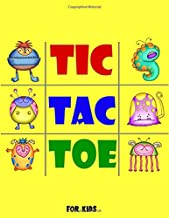 Tic-Tac-Toe For Kids: Travel Games for Kids, Over 1,200 Blank Paper Grid Games