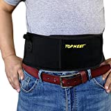topmeet Belly Band Pistol Holsters for Concealed Carry (X-Large, Black) …