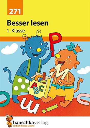Besser lesen 1. Klasse, A5- Heft (Deutsch: Besser lesen, Band 271)