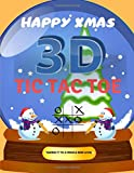 3D Tic Tac Toe: Noughts and crosses game notebook for 2 players