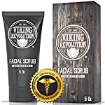 Viking Revolution Microdermabrasion Face Scrub for Men - Facial Cleanser for Skin Exfoliating, Deep Cleansing, Removing… 6