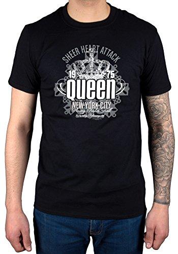 Official Queen Sheer Heart Attack T-Shirt Band Album We Will Rock You