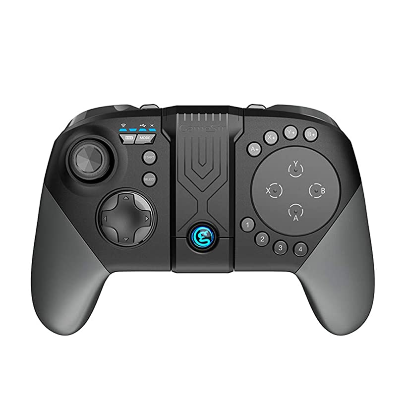 Tacameng Wireless Bluetooth Trackpad Touchpad Gaming Controller Gamepad for Android,Ergonomic, Comfortable to Handle,Responsive Trackpad and Programmable Buttons,Built-in Bracket