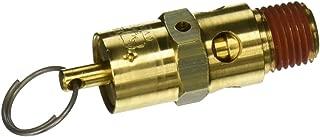 Control Devices SA25-1A225 SA Series Brass Hard Seat ASME Safety Valve, 225 psi Set Pressure, 1/4 Male NPT