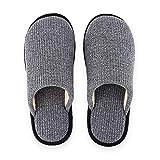 Pantuflas Pantuflas Zapatillas For Hombre For Mujer, Señoras Zapatillas De Interior Al Aire Libre De La Casa Zapatillas De Algodón Suave Galleta Dormitorio Zapatilla De Memoria Mujeres Espuma Cómodas