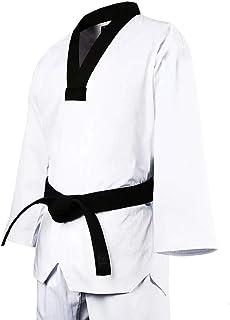 空手着/空手衣 トレーニング 上下セット(白帯付)組手兼用