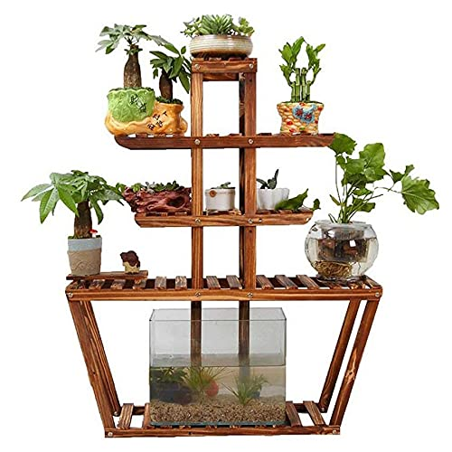 HWG Estanteria para Plantas Soporte para Plantas Adecuado para Balcón Interior Sala De Estar Estanteria Exterior Jardin