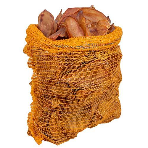 VOSS Schweineohren getrocknet im Beutel Kausnack für Hunde Hundesnack Leckerli