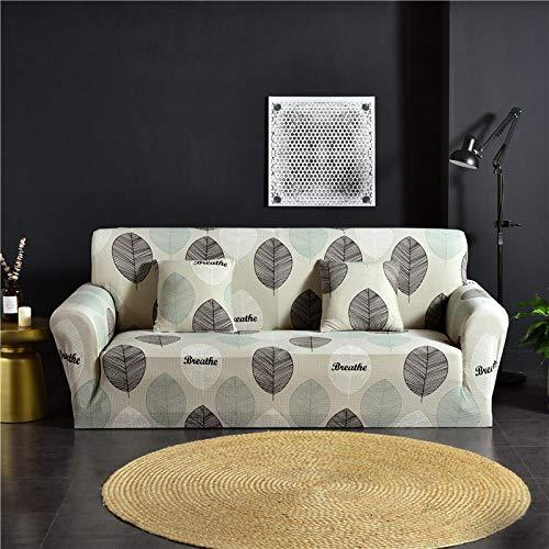 1 protector elástico para muebles,Funda de sofá acolchada de spandex, funda de sofá elástica antideslizante de tela de poliéster con estampado todo incluido, funda de protección para muebles de banco