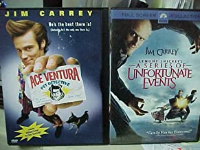 Ace Ventura Pet Detective , a Series of Unfortunate Events : Jim Carrey Family Movie 2 Pack Collection