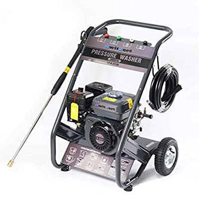SwitZer Quality 3000 PSI 6.5 HP 4 Stroke OHV Petrol Pressure Washer Jet Washer by KMS
