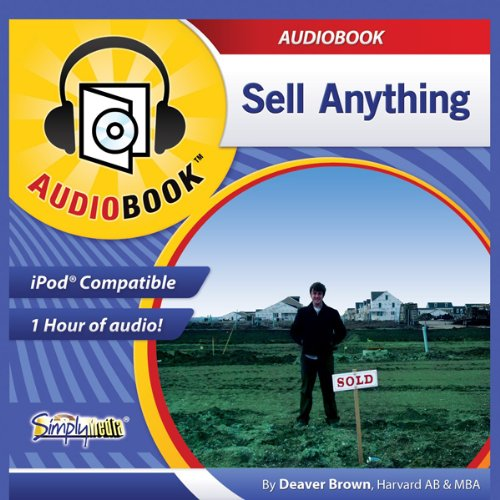 Sell Anything audiobook cover art