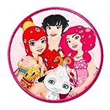 Mia and me Phuddle & Mia Comic Kinder - Aufnäher, Bügelbild, Aufbügler, Applikationen, Patches, Flicken, zum aufbügeln, Größe: Ø 5,9 cm