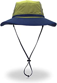 Alnitak Women Summer Sun Hat UV Protection Foldable Wide Brim Mesh Boonie Bucket Hat for Fishing Beach Campin Travel