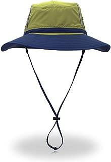 Alnitak Women Summer Sun Hat UV Protection Foldable Wide Brim Mesh Boonie Bucket Hat for Fishing Beach Campin Travel