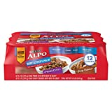 Purina ALPO Gravy Wet Dog Food Variety Pack, Beef Lover's - (12) 13.2 oz. Cans