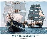 Windjammer - Kalender 2021 - Delius-Klasing-Verlag - Wandkalender mit atemberaubenden Aufnahmen von Segelschiffen - 56 cm x 45,5 cm