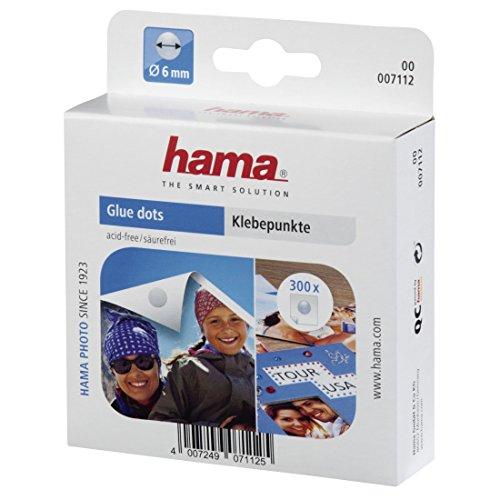 Hama 00007112 - Etiqueta autoadhesiva, Transparente