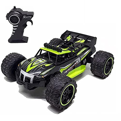 WZRYBHSD Control Remoto De Alta Velocidad Vehículo Todoterreno 4WD Carga Carreras Coche De Escalada Eléctrico Potente Buggy Modelo De Juguete Bigfoot Camión Entusiasta Día Del Niño Adulto Cumpleaños D
