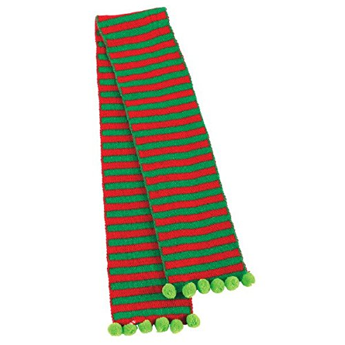 Christmas Fabric Elf Scarf For Children   Party Costume