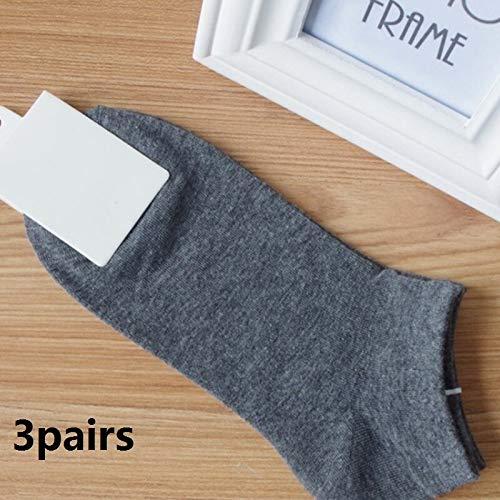 WZHHXXG Zomer Mannen Enkelsokken Voor Mannen Zakelijke Casual Korte Sokken als foto