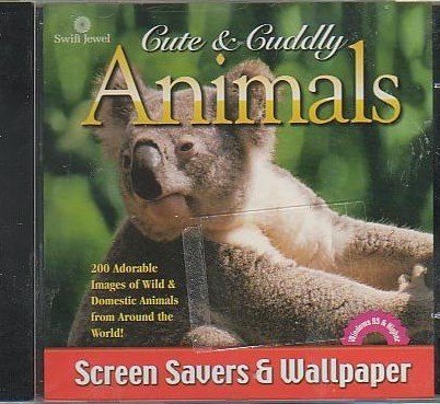 Cute & Cuddly Animals Sliding Puzzles & Screensaver