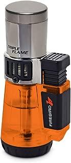 Firebird by Colibri Afterburner Triple Torch Cigar and Cigarette Lighter Warranty Orange