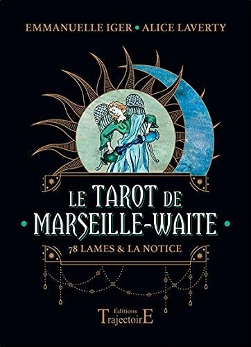 Le Tarot de Marseille-Waite - 78 lames et la notice