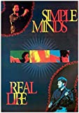 1art1 Simple Minds - Real Life Poster 89 x 59 cm