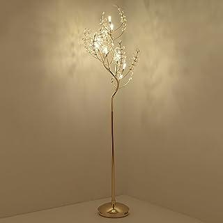 Cristal LED lampadaire personnalité créatrice Salon Chambre étude hôtel Club décoration Lampe sur Pied de Salon