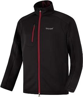Lesmart Men's Golf Jacket Waterproof Lightweight Outerwear Full Zip Hiking Work Travel