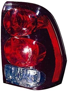 Go-Parts - OE Replacement for 2002 - 2006 Chevrolet Trailblazer EXT Rear Tail Light Lamp Assembly / Lens / Cover - Right (Passenger) Side 15131579 GM2801150 Replacement For Chevrolet Trailblazer EXT