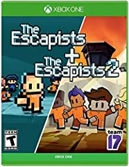 Start plotting your next escape as The Escapists and The Escapists 2 get locked up together in a double pack! The Escapists is a unique prison sandbox experience with lots of items to craft and combine in your daring quest to escape captivity. With t...