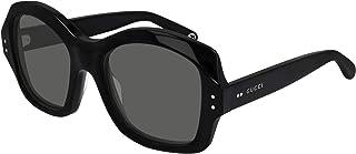 Gucci - Gafas de Sol GG0624S Black/Grey 57/20/145 hombre
