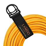 Extension Cord Organizer(8 Pack),17' Heavy-Duty Hoop and Loop Storage Straps for Hoses,Cables,Ropes,Cords...