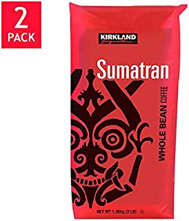 Kirkland Signature™ Sumatra Whole Bean Coffee 2-3lb Bags