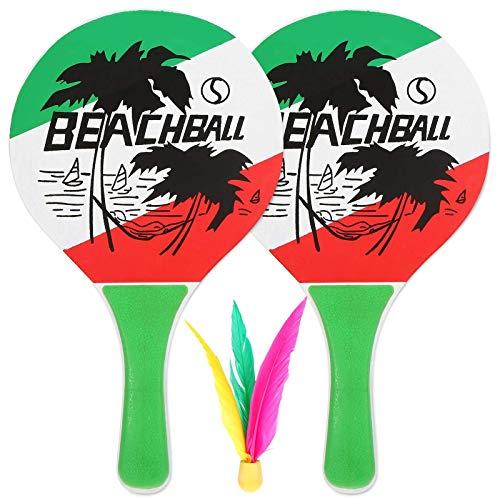 Joycaling Raqueta De Badminton Divertida Raqueta De Bádminton De Cricket para Jugadores Principiantes Profesionales (Size:Free Size; Color:Green)