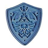 Cuticuter Escudo Hyrule The Legend of Zelda Cortador de Galletas, Azul, 8x7x1.5 cm