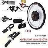 OUKANING 36V 500W Hub Motor Ebike Kit vélo électrique Moteur Kit de Conversion pour Cyclisme + LCD