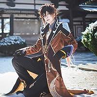 原神 Genshin げんしん 鍾離(しょうり) コスプレ衣装 コスチューム cosplay [DY20121]