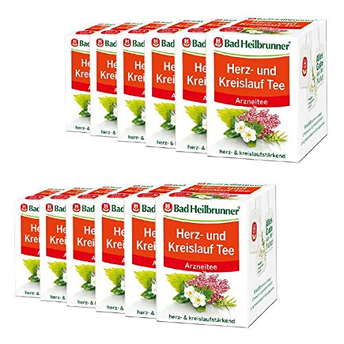 Bad Heilbrunner® Herz- und Kreislauf Tee - 12er Pack