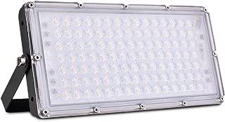 LED Flood Light Outdoor, Sararoom 100W IP65 Waterproof LED Security Lights, 9000LM 3000K Warm White Spotlight, Floodlight Landscape Wall Light for Yard, Street, Parking Lot, Garage