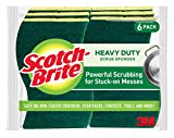 Scotch-Brite Heavy Duty Scrub Sponge, 6-Sponges