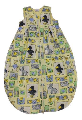 Tavolinchen 35/430-0-130 - badstofslaapzak Rabe maat 130 cm, geel