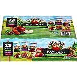 Apple & Eve 100% Juice Variety Pack, 6.75 Fl Oz, Pack of 32