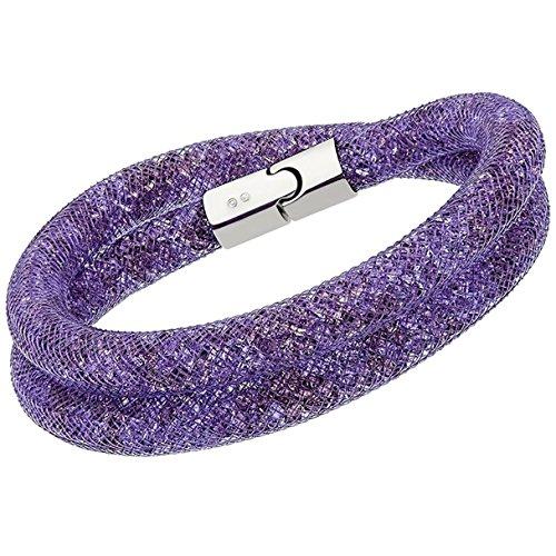 Swarovski Stardust Double Wrap Mauve Bracelet 5120044